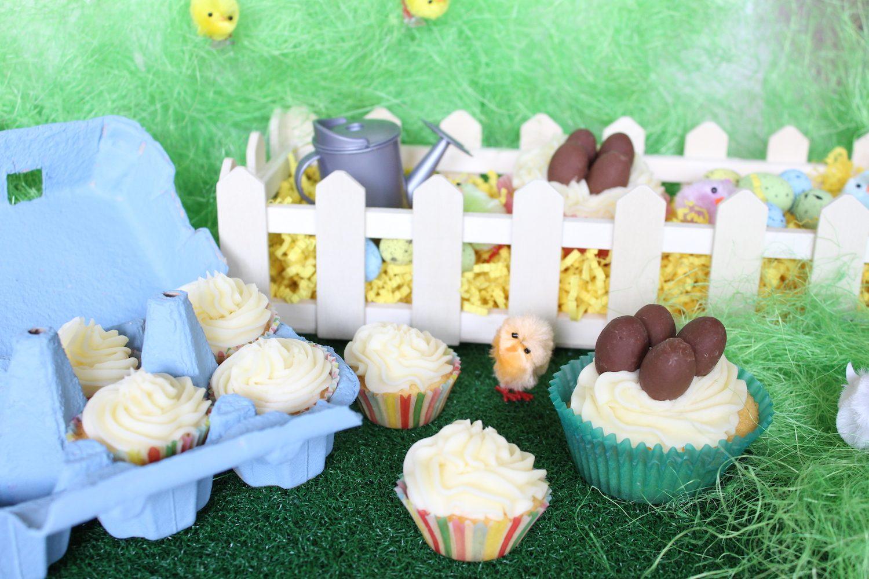 Boîte à oeufs de Pâques pour cupcakes