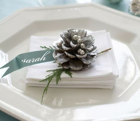 Inspiration : table de Noël