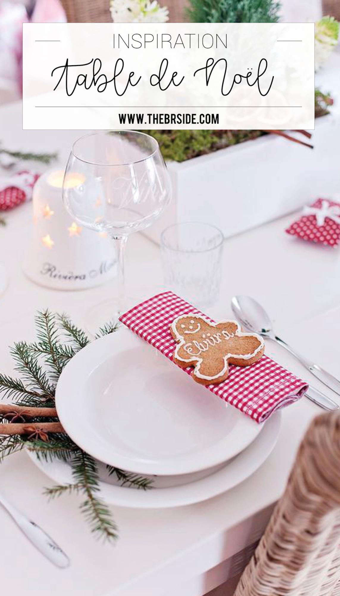 inspiration des id es pour votre d coration de table pour no l. Black Bedroom Furniture Sets. Home Design Ideas