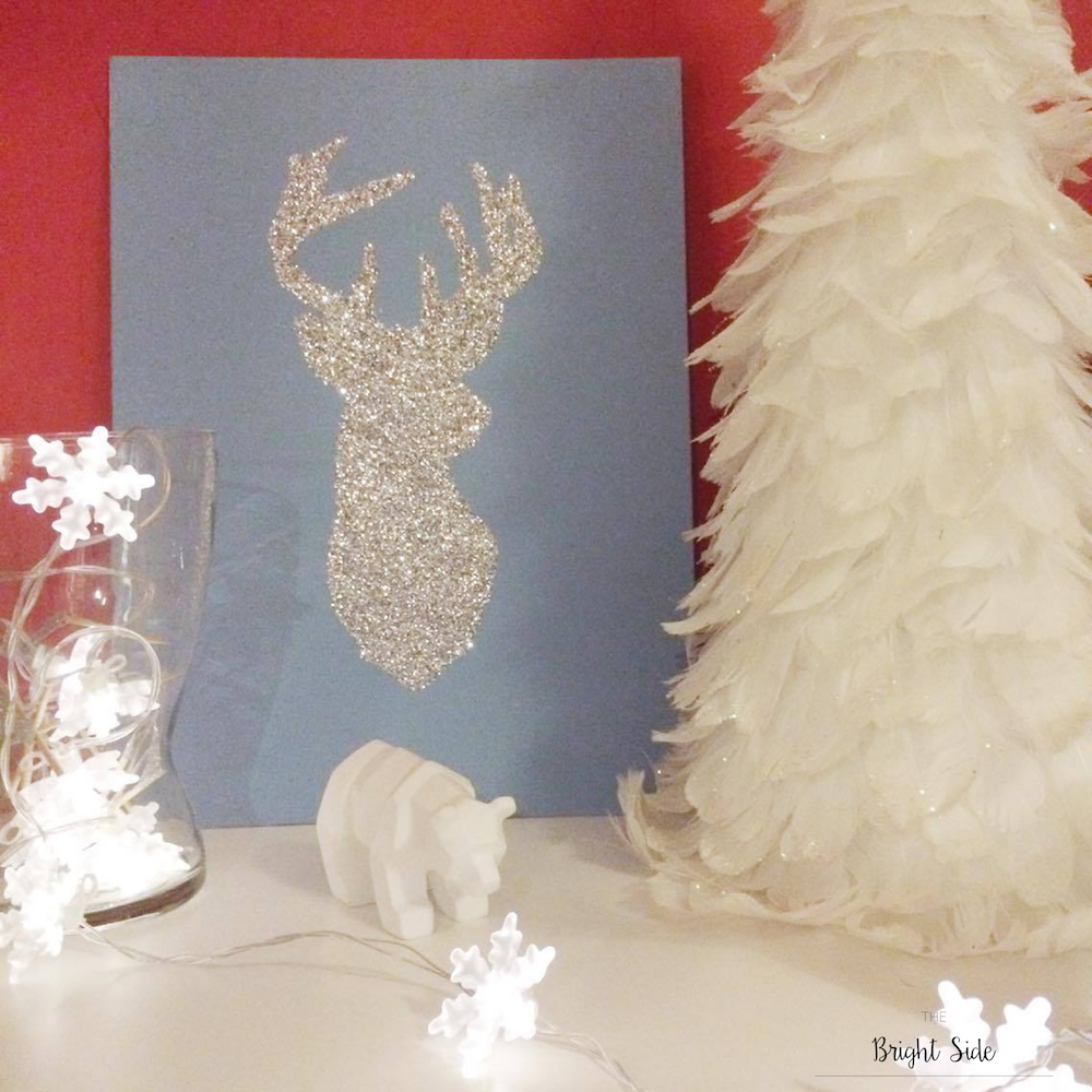 Do It Yourself : Tableaux noël hiver