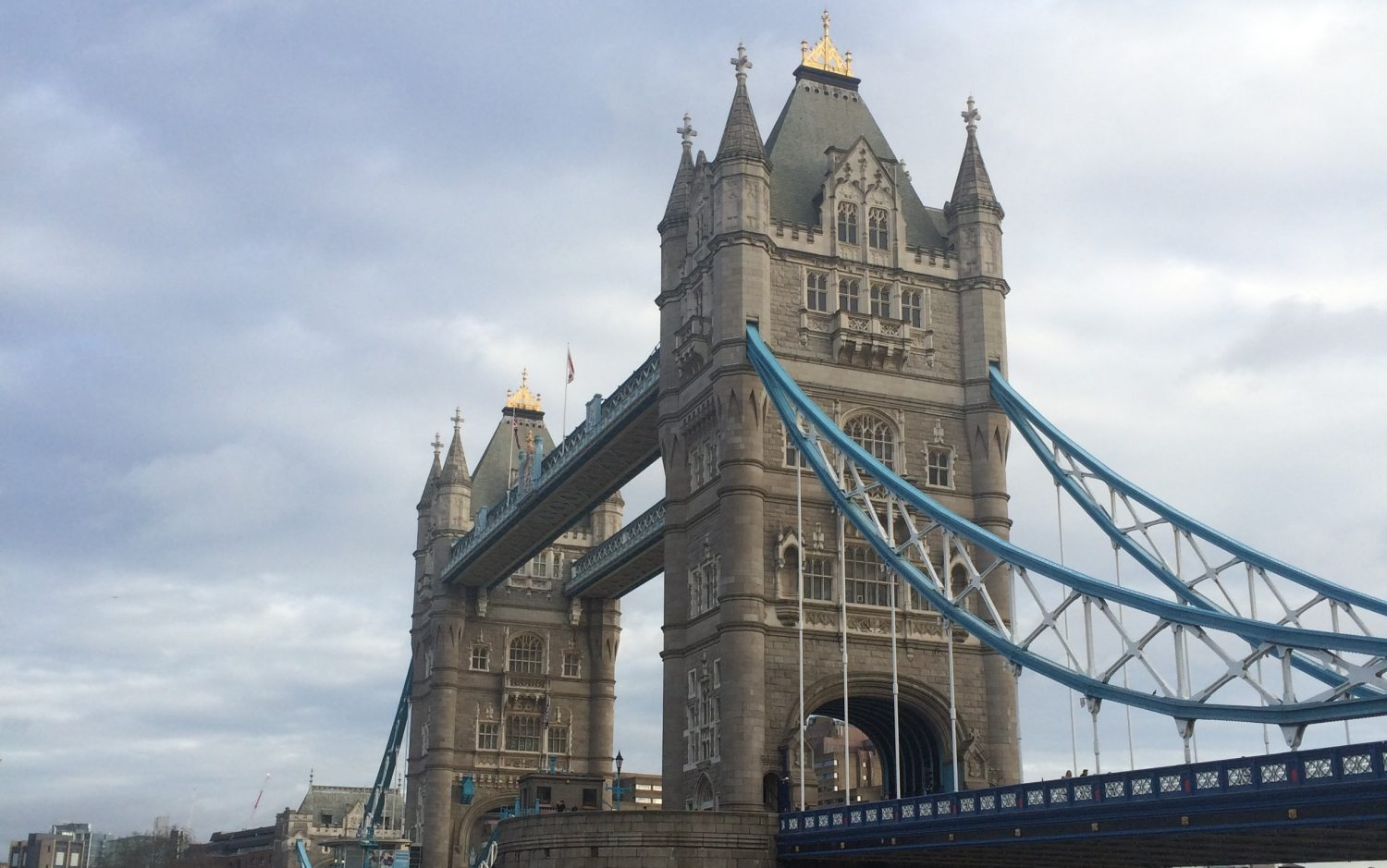 Jour 3 et 4 à Londres : Tower Bridge, Camden, Winter Wonderland…