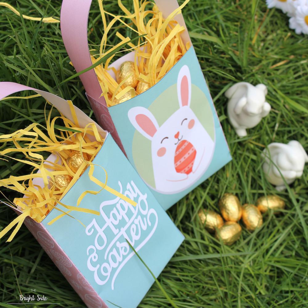 [DIY] – Free Printable : Panier chasse aux oeufs de Pâques