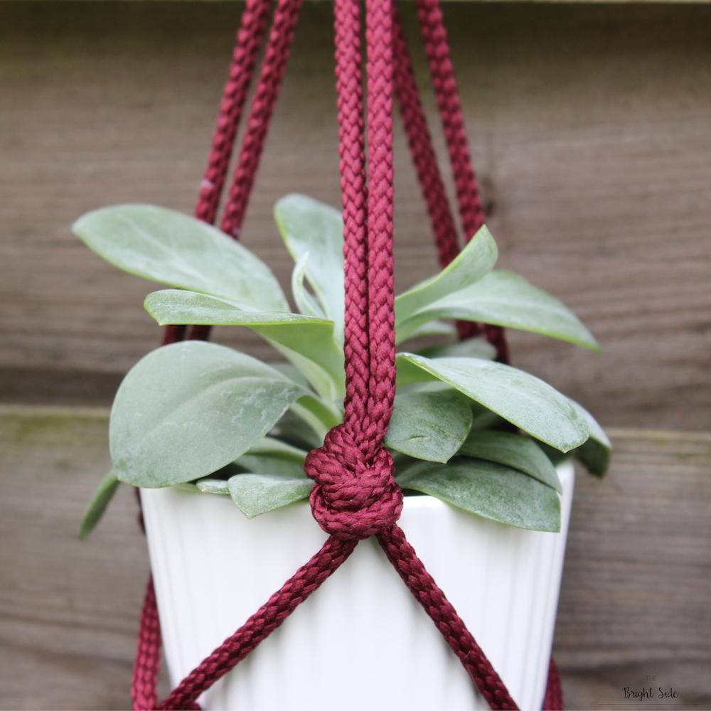 [DIY] – Pour décorer : Suspension macramé pour plantes