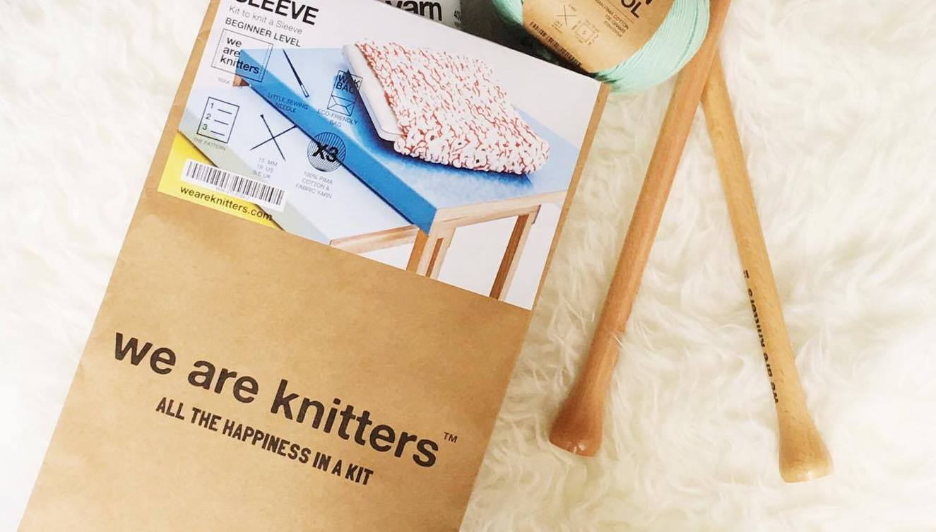 Tricoter avec We Are Knitters