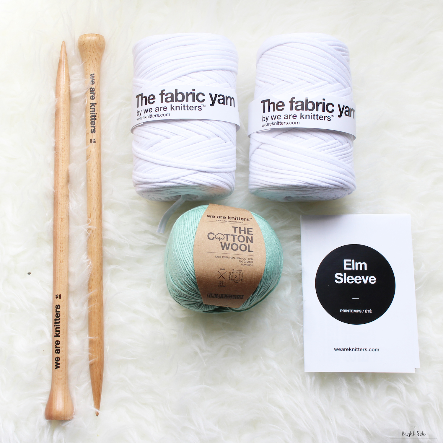 [DIY] - Kit : Tricoter avec We Are Knitters