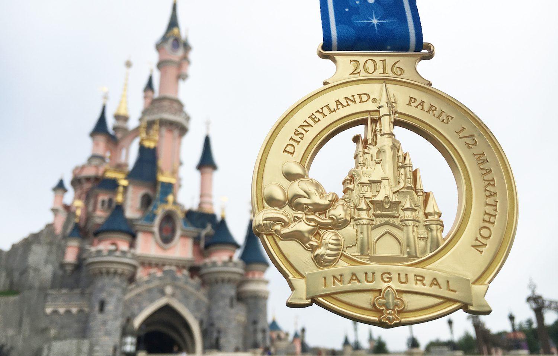J'ai fait le semi-marathon de Disneyland Paris toute seule !