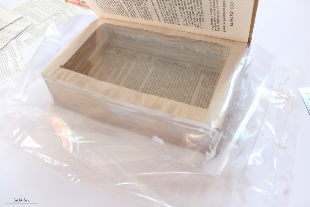le livre boite DIY