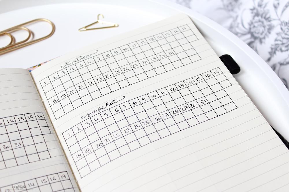 Bullet journal   Bilan : 1 mois d'utilisation + free printable