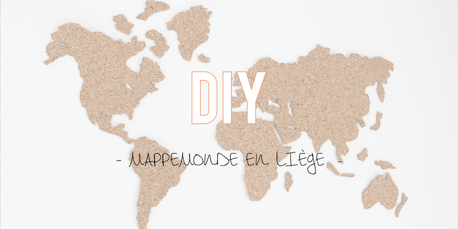 diy la mappemonde en li ge. Black Bedroom Furniture Sets. Home Design Ideas