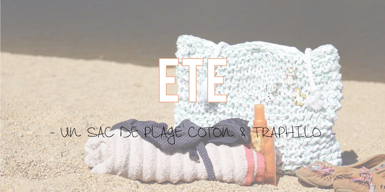DIY | Un sac de plage coton & traphilo ☀️