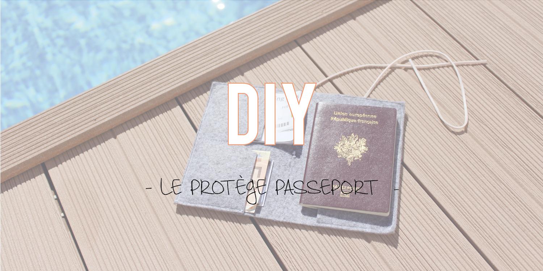DIY | Le protège passeport ✈️
