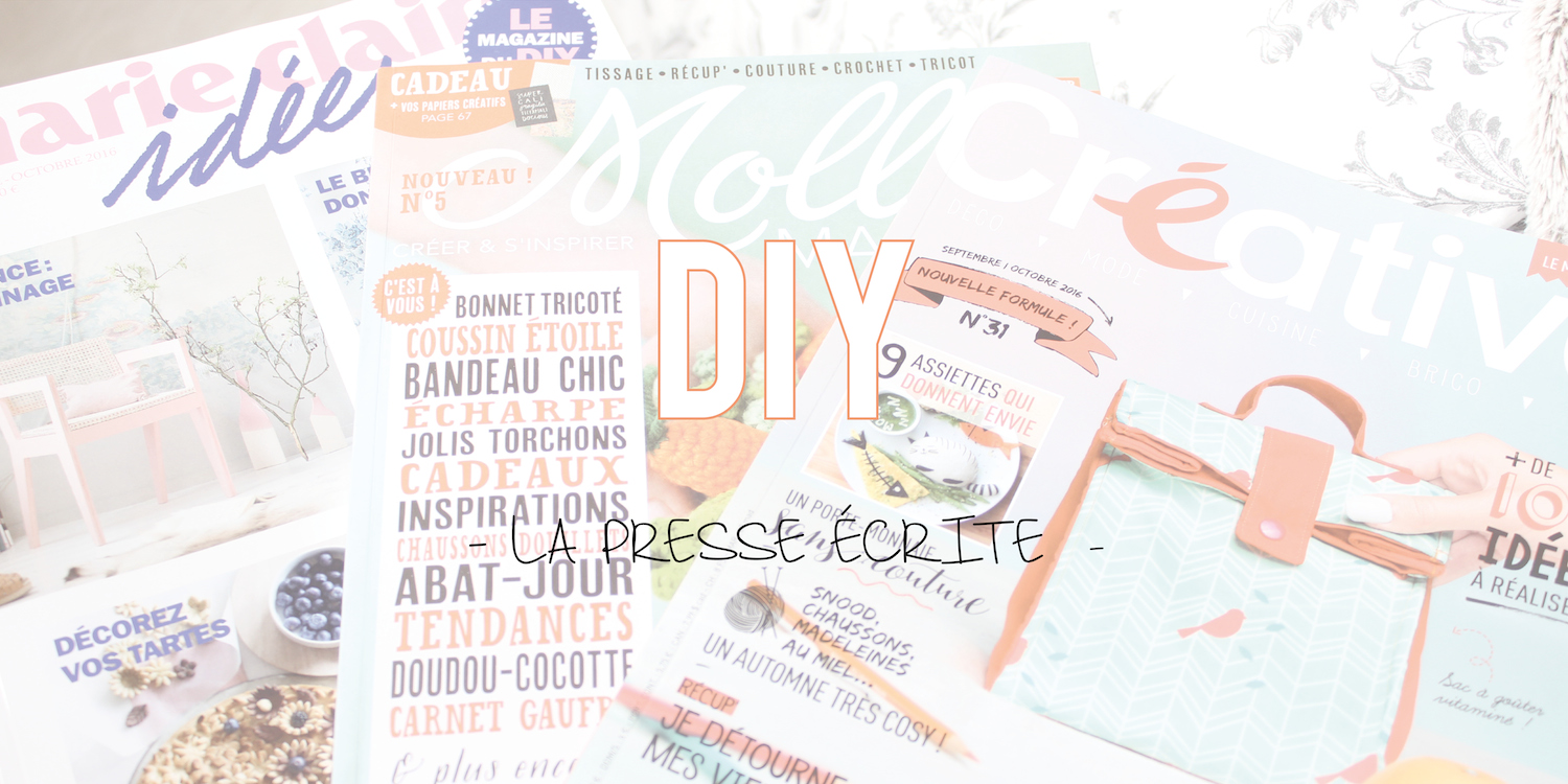 Revue de presse | Magazine DIY (Do It Yourself)