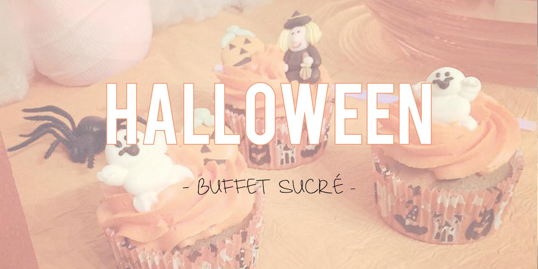 Halloween| Buffet sucré : cupcakes et pop cakes 🎃