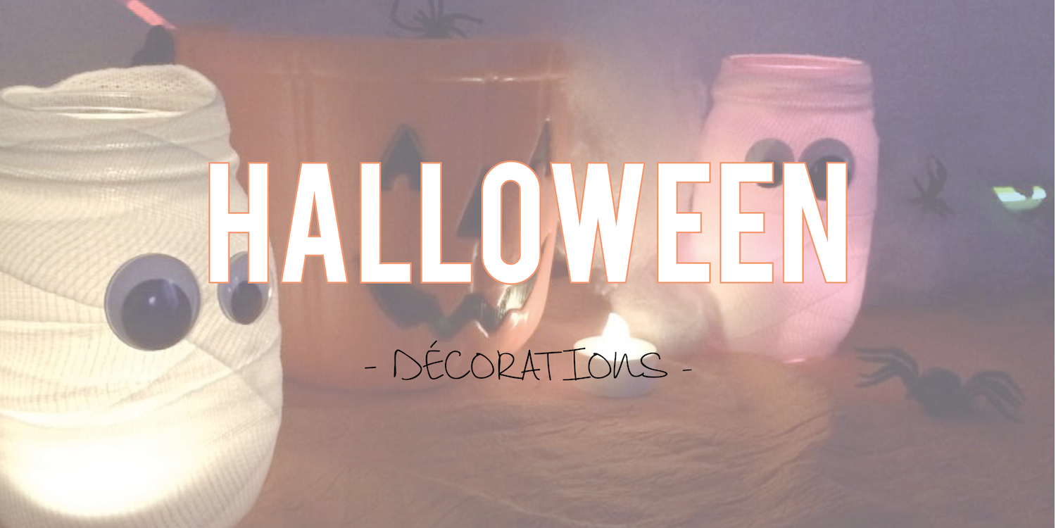Halloween| Décorations lumineuses 🎃