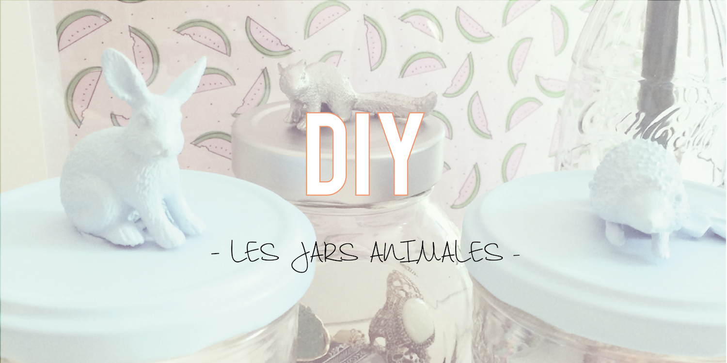 DIY| Les jars animales 🐰🐺