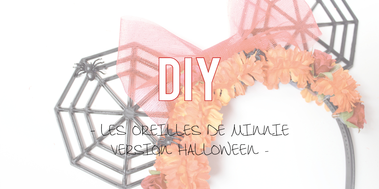 DIY |Les oreilles de Minnie version Halloween