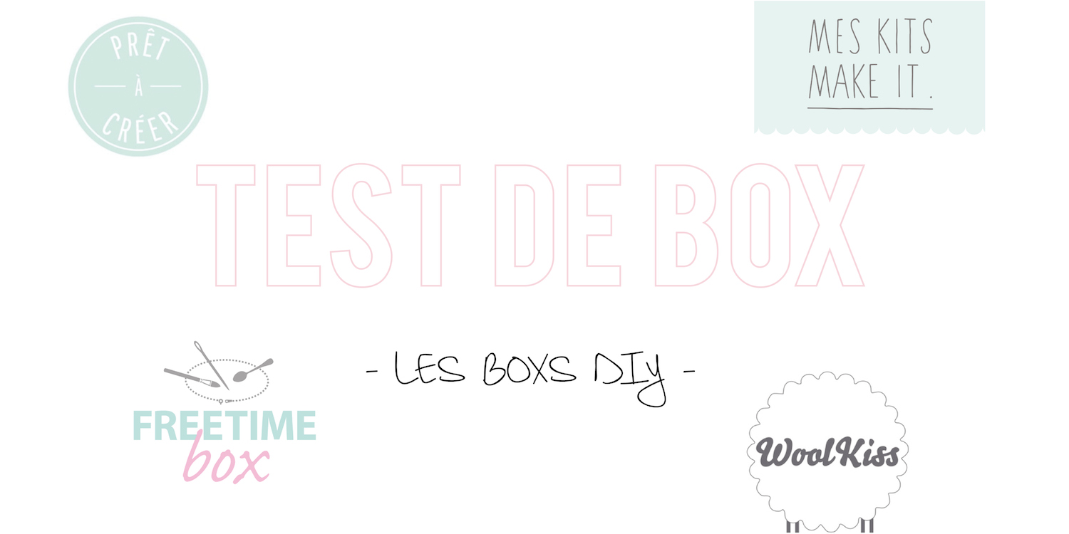test de box les boxs diy cat gorie loisirs cr atifs. Black Bedroom Furniture Sets. Home Design Ideas