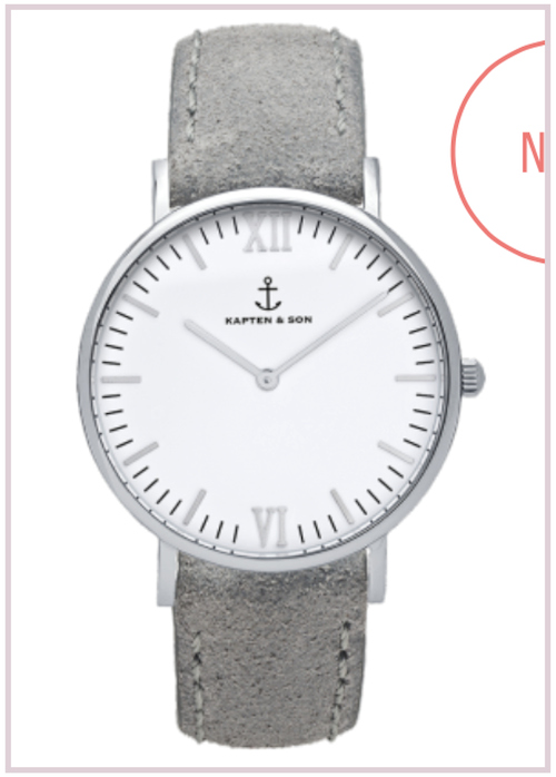 Montre grise Kapten and son