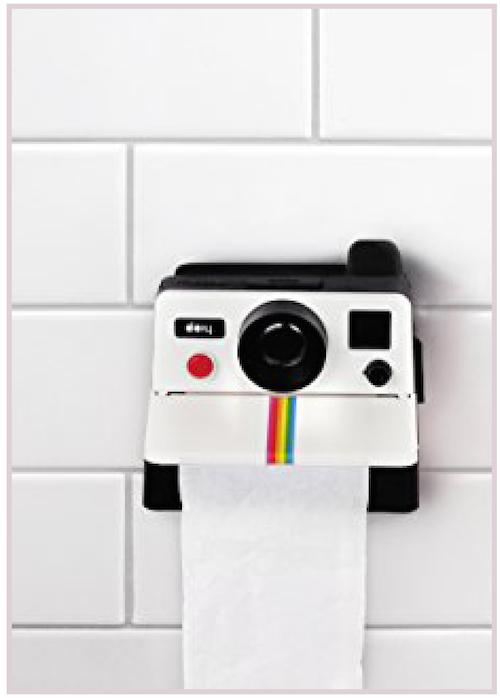 Distributeur papier toilettes Polaroid Cadeau Maestro