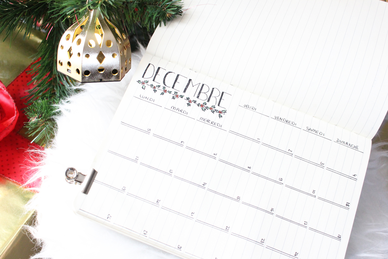 Bullet journal | Bilan 2 mois d'utilisation & ma mise en page de décembre