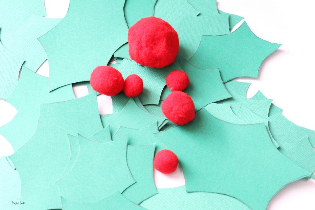 Joyeux Noël | DIY ta couronne de houx en papier 🎄