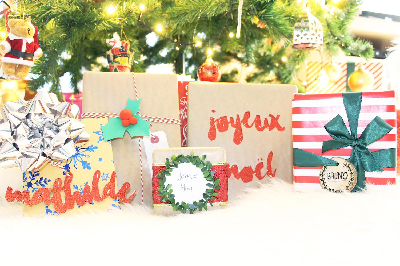 Joyeux Noël | 5 idées d'emballage cadeaux DIY 🎁