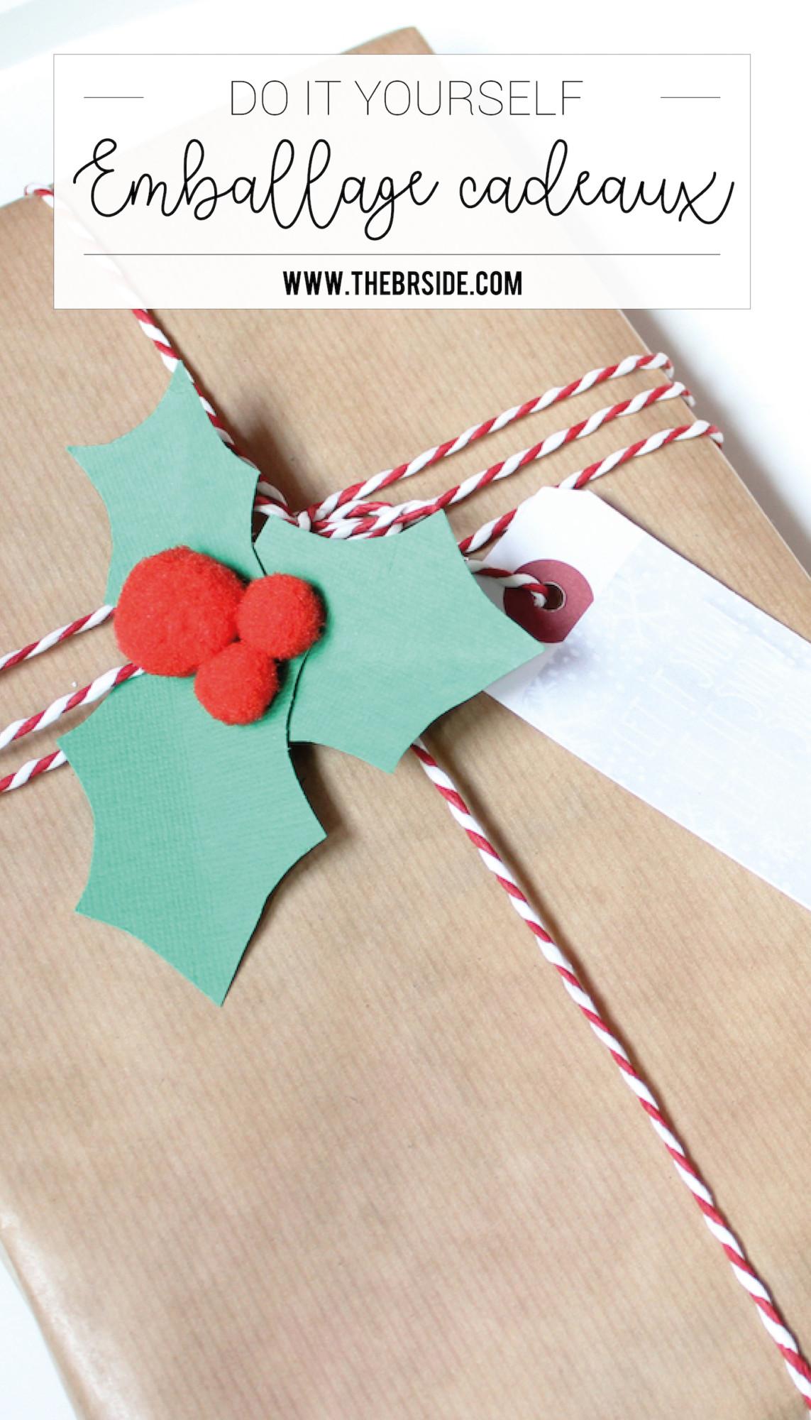 idées d'emballage cadeaux