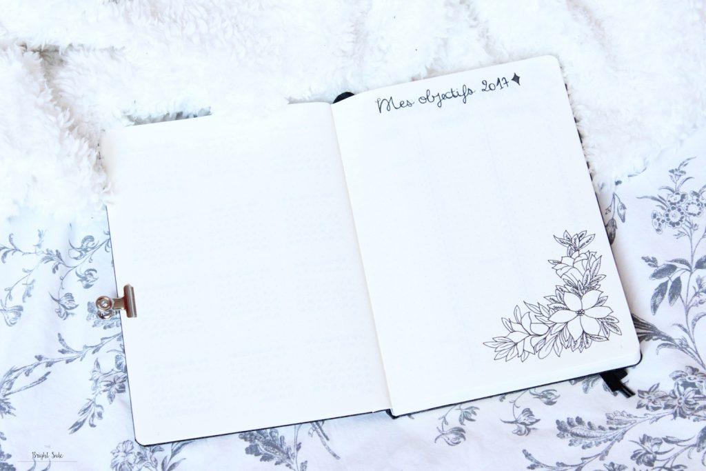 Bullet journal | Un Leuchtturm pour 2017 (mise en page + bilan)
