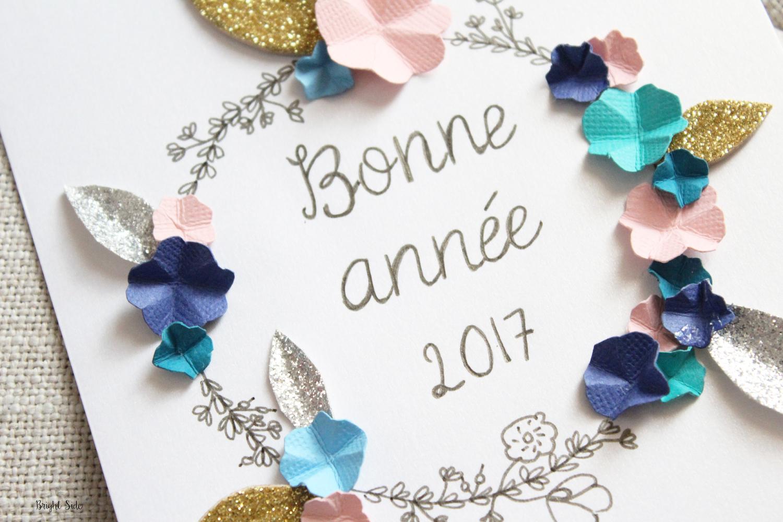 DIY | Cartes de voeux Bonne Année 2017 !