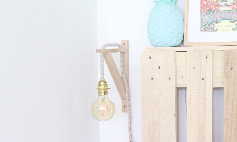 DIY ampoule suspendue