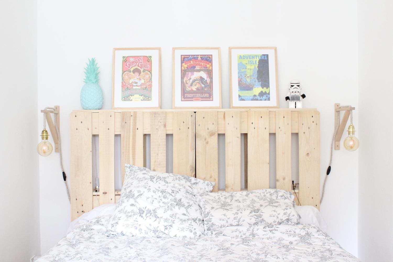 Tête de lit en palette - DIY