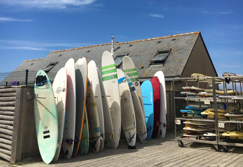 Je teste un stage de surf en Bretagne !