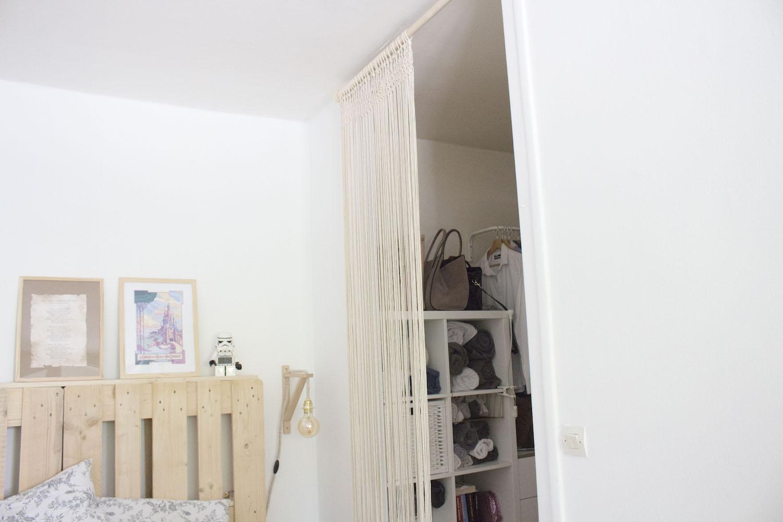 DIY rideau en macramé