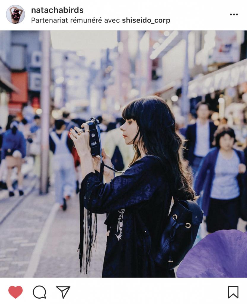 gagner de l'argent avec un blog - Photo Instagram