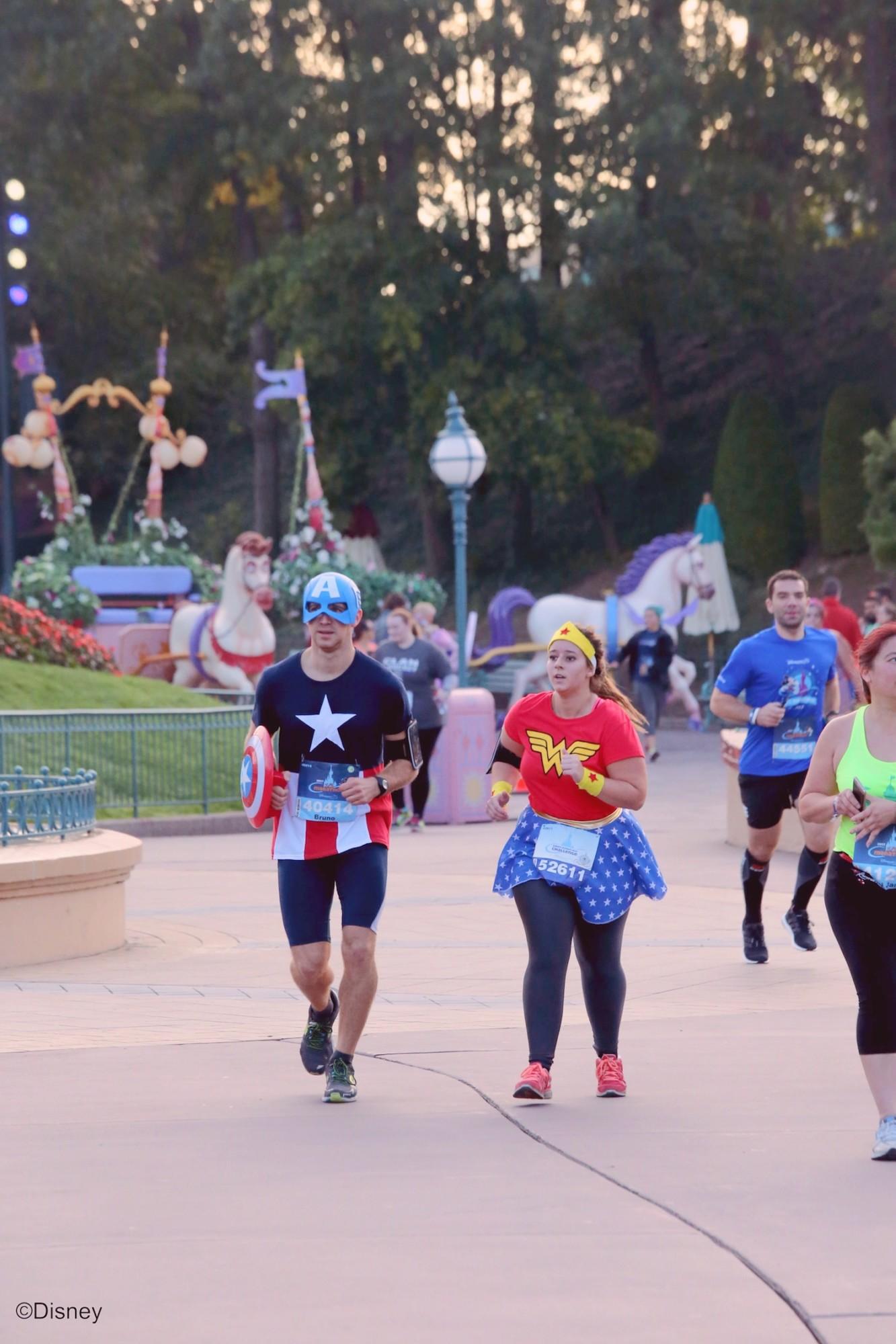 Les courses RunDisney 2017 à Disneyland Paris