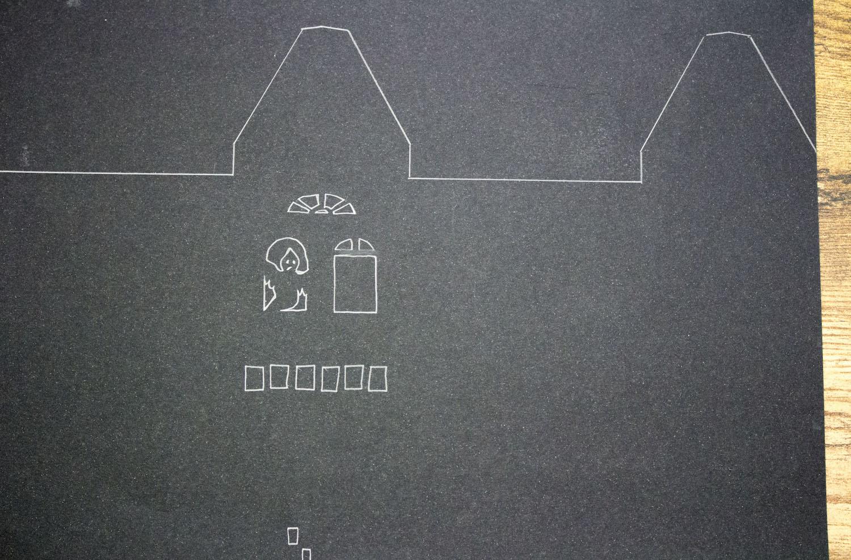 Photophores maisons hantées