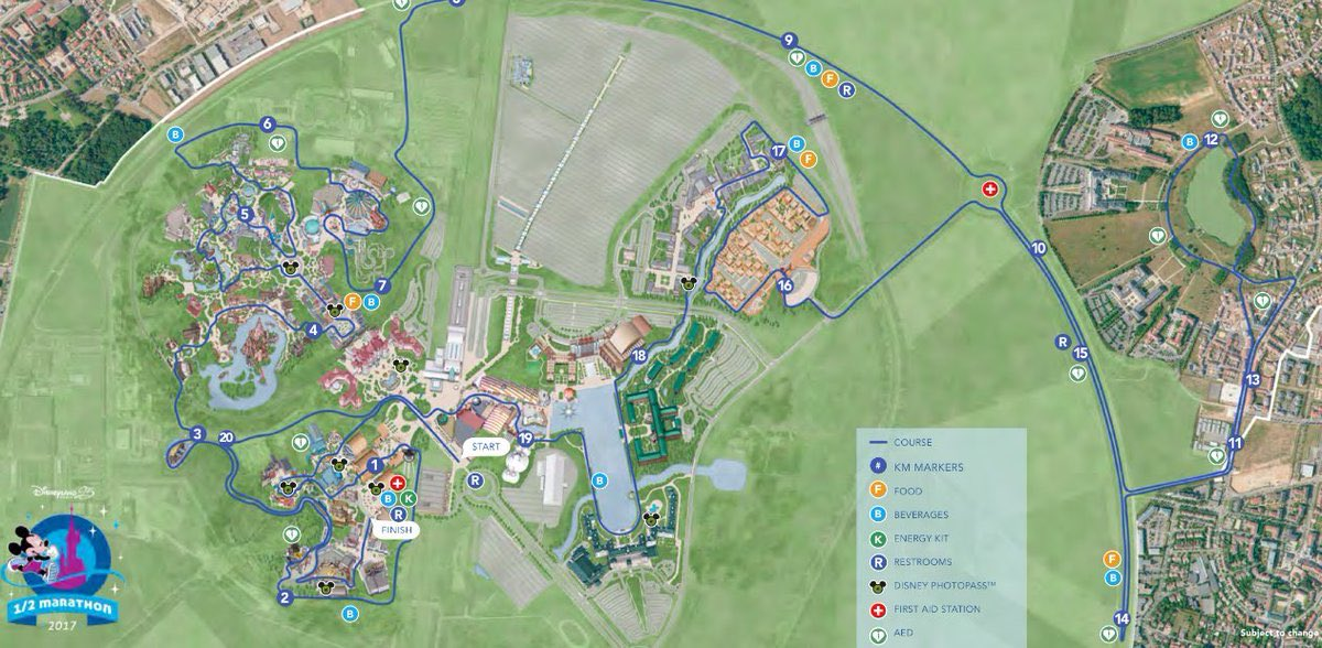 Les courses RunDisney 2017 à Disneyland Paris
