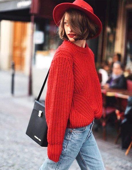 tendance automne hiver 2017 - le rouge