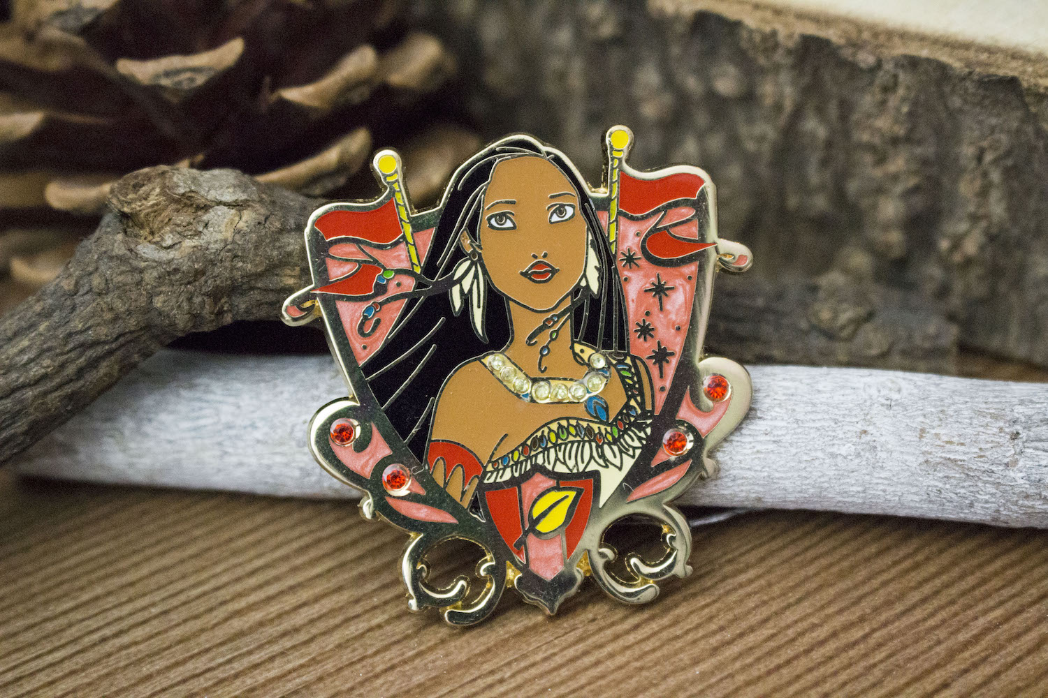 Ma collection de pins Disney Pocahontas