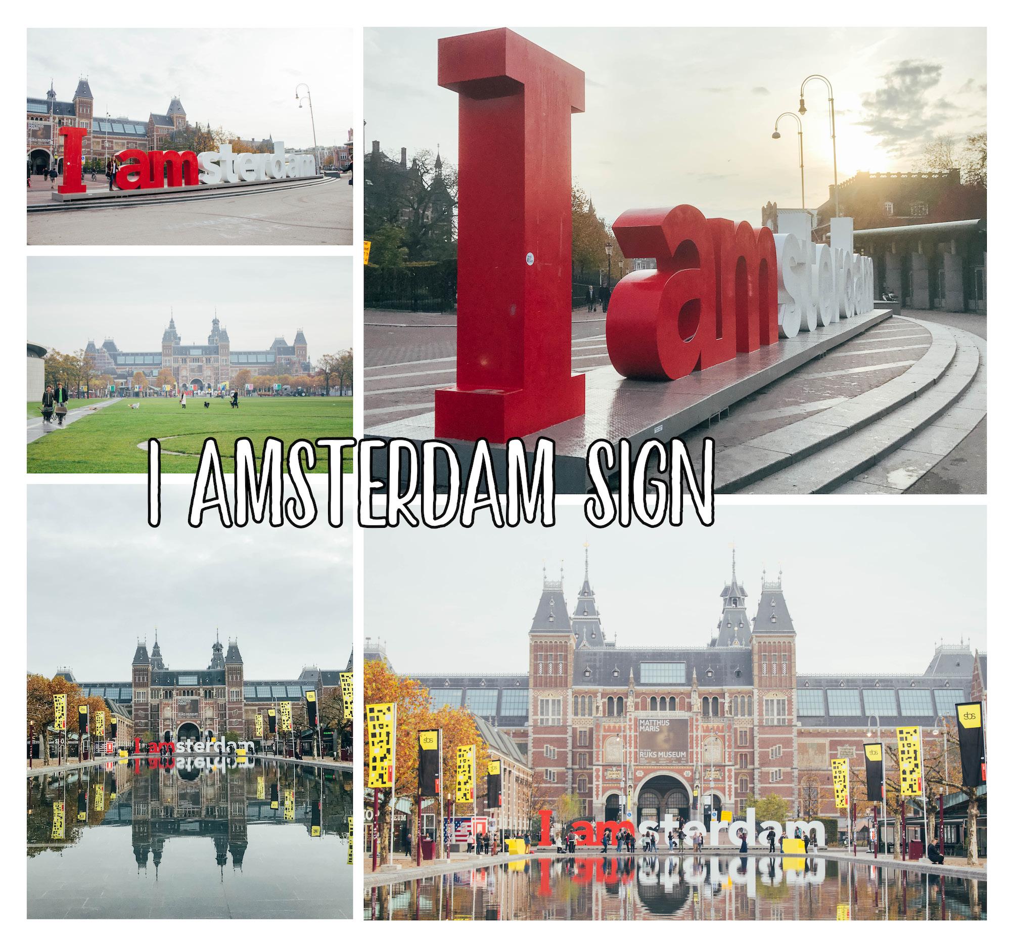 Spots photos à Amsterdam