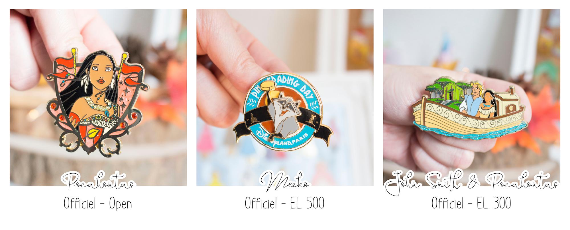 TRADE - Pins Disney Pocahontas