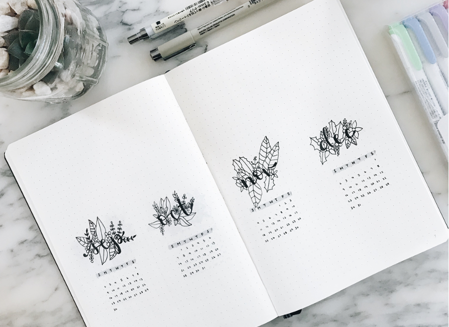 Inspirations Bullet Journal : 10 comptes à suivre ! #2