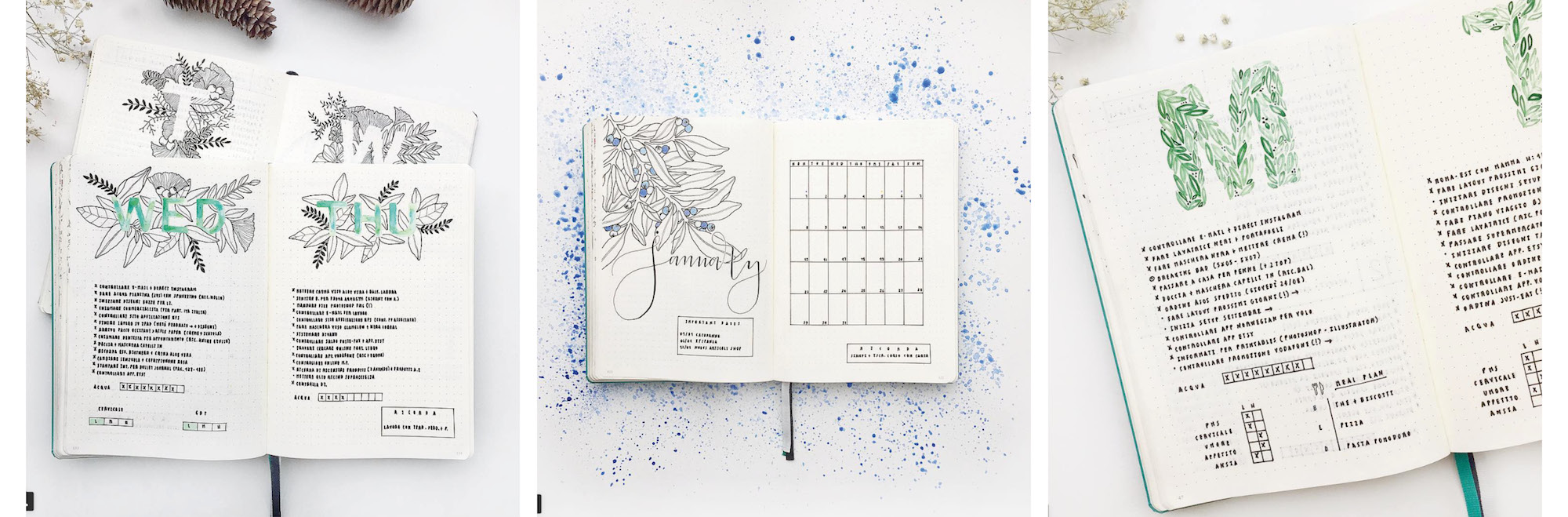 Inspirations Bullet Journal