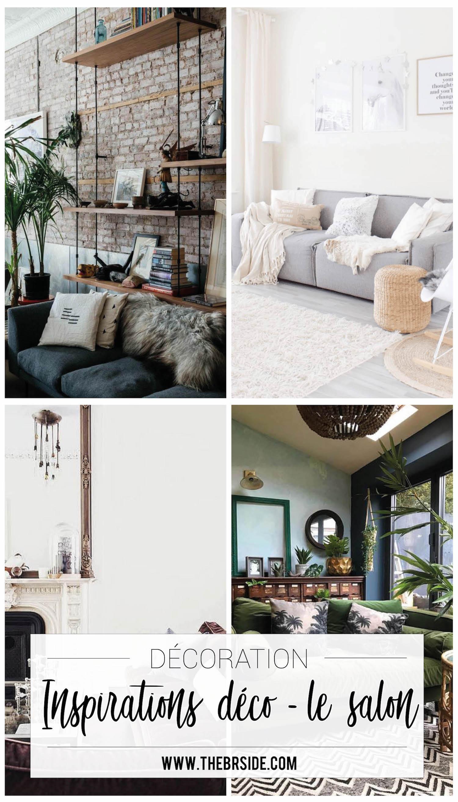 mes inspirations d co pour un salon tendance. Black Bedroom Furniture Sets. Home Design Ideas