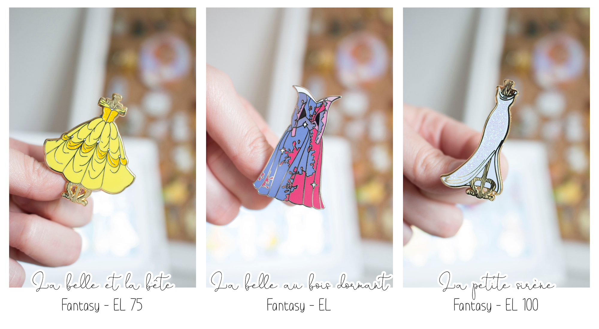 Pins Disney Robes et habits de princesses