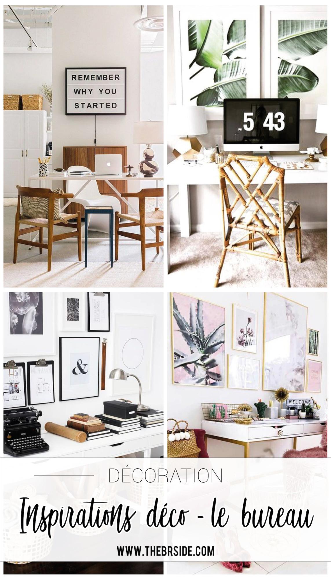Pinterest Inspirations déco - le bureau