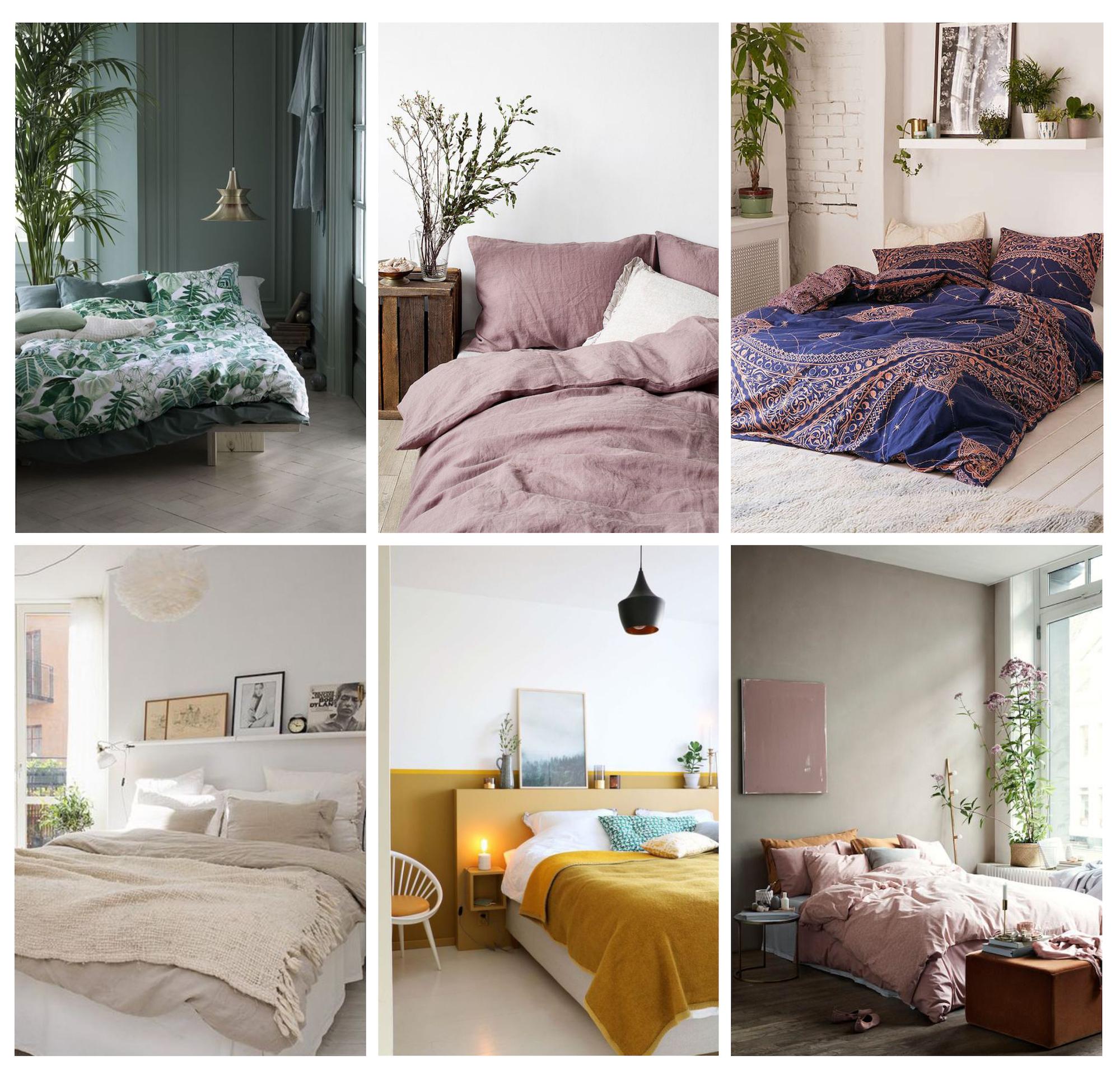 Inspirations déco chambre textiles