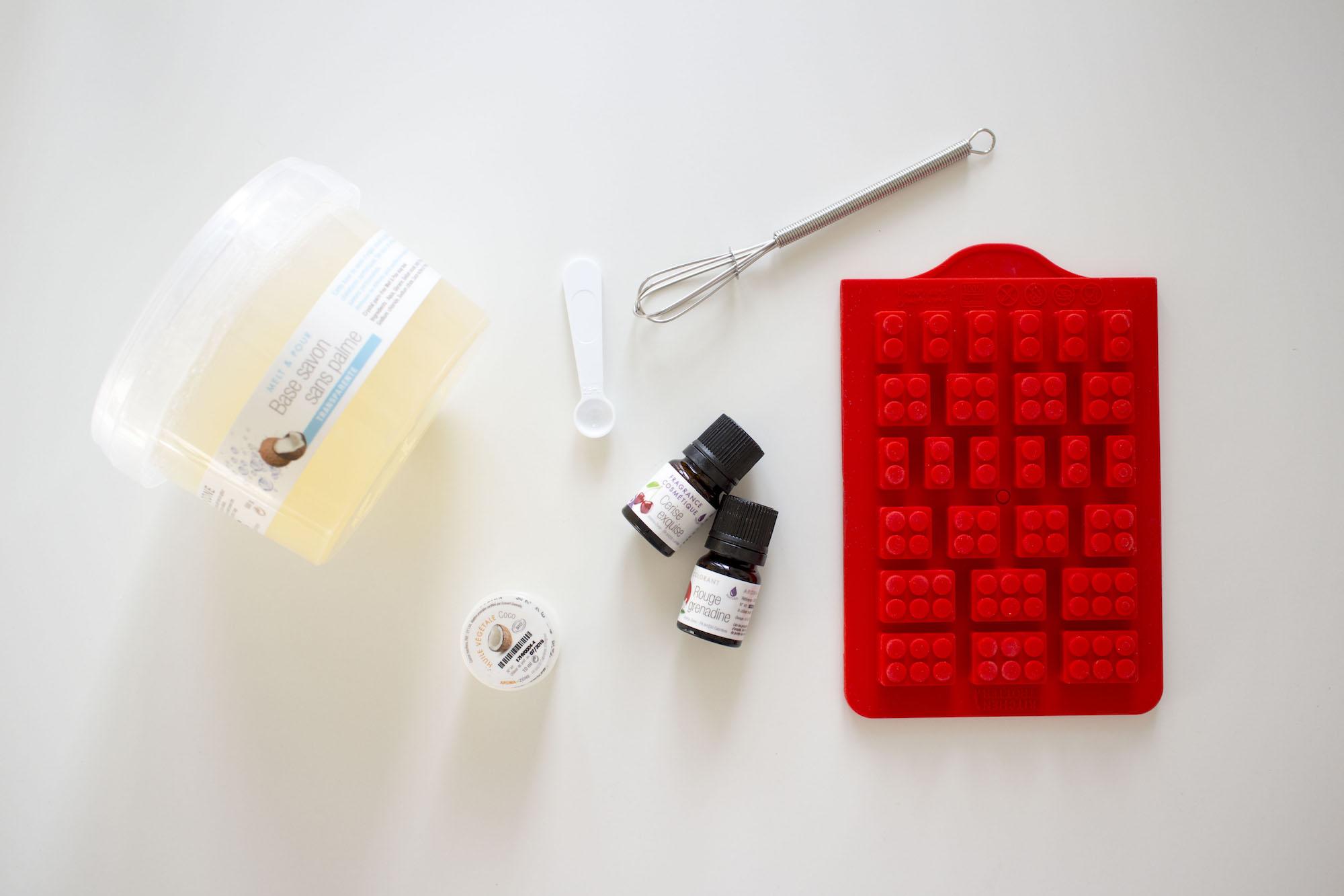 Recette DIY de savon solide