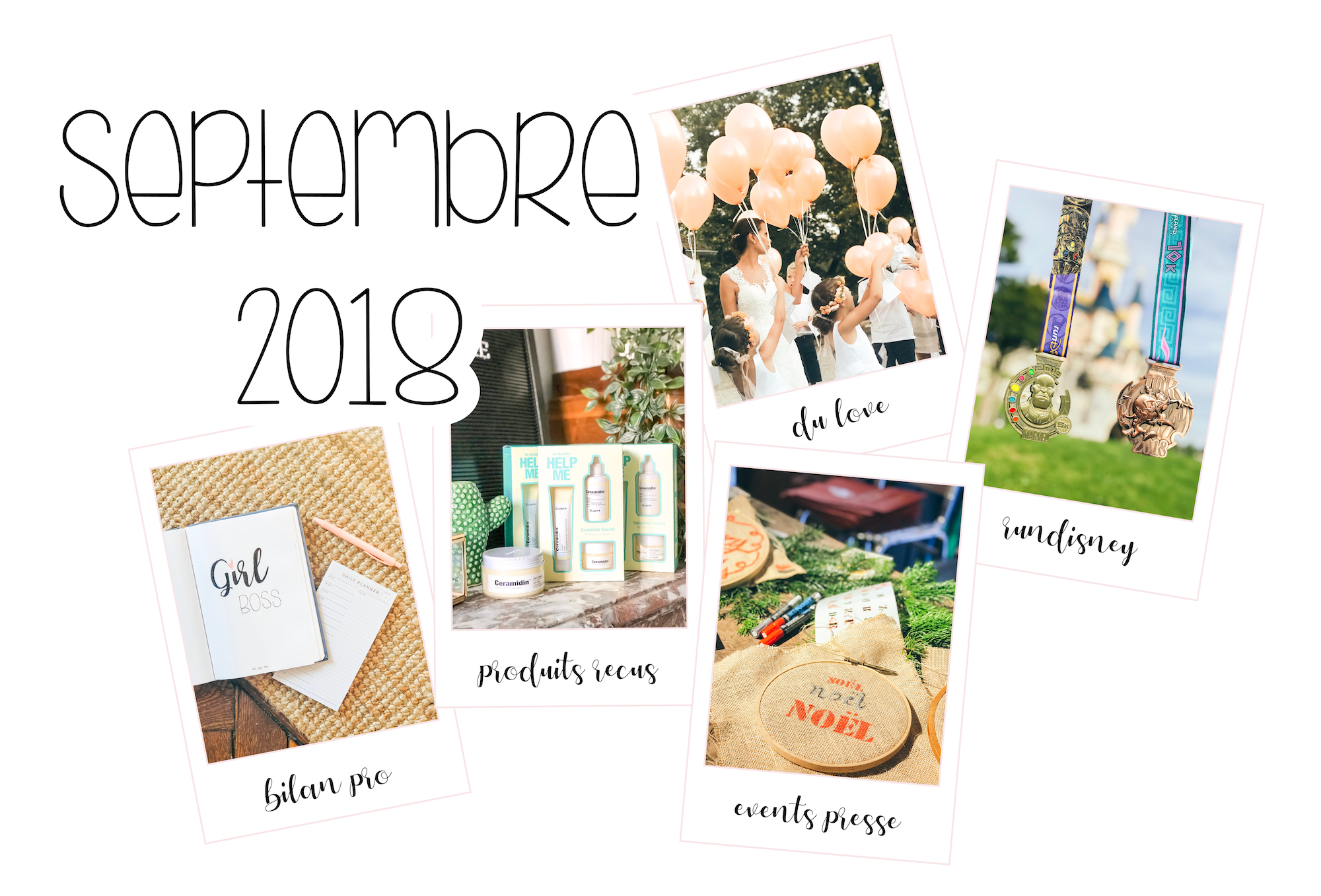 The Bright Side of the month - septembre