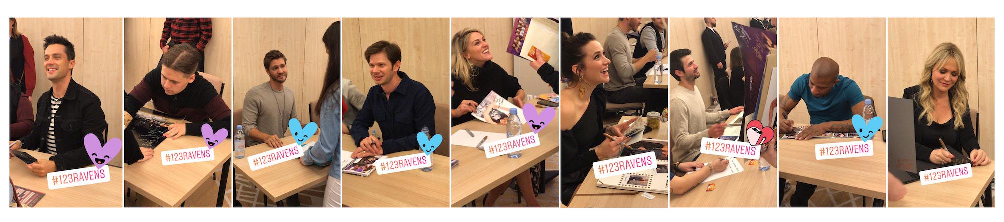 Convention OTH - 1, 2, 3, Ravens autographe